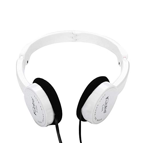 OSYARD Over Ear Kopfhörer Headphones Noise Cancelling Headset Faltbarer Ultraleicht Faltbar Ohrhörer Hi-Fi Stereo Earphones Sportkopfhörer mit 3,5 mm Klinke für iPhone,Samsung, Huawei, HTC