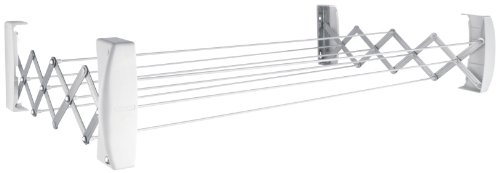 Leifheit Teleclip 74 Extendable - Tendedero de Pared de Metal, 12x110.8x11 cm,...