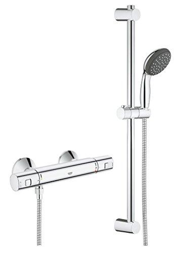 Grohe Precision Start-Set de ducha con grifo termostático y barra Ref. 34597000