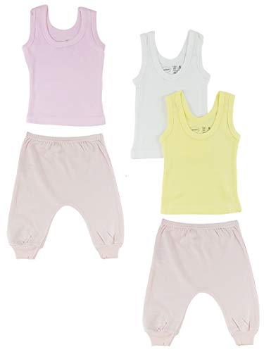 Bambini Girls Tank Tops and Joggers - Large Bambini-tank-top