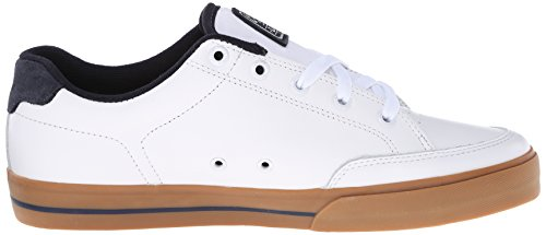C1Rca - Lopez  50, Sneakers, unisex Bianco (Weiß (White/Dress Blue))