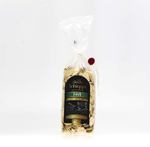 Fave Decorticate - 250gr - **Spedizione Gratuita sopra i 30€ per tutti i prodotti Legumi Schioppi!