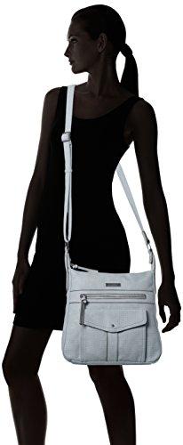 Tamaris - Adriana Hobo Bag S, Borse a tracolla Donna Grigio (Light Grey)