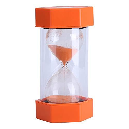 Sanduhr 3/10/20/30/60 Minuten - für Heim, Büro oder als Deko, Geschenk 20 minutes orange
