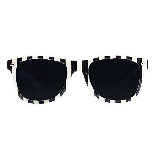 Kostüm Polizei Gefangener - Partybob Kostüm-Brille Sträfling