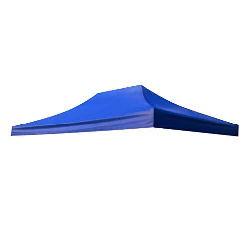 perfk Mehrzweckplane Ersatz Camping Zelt Cover Ultraleicht Ersatzplane - Blau 3 x 4,5 m, 2m 3m