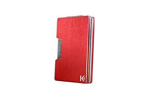 KARCAJ® Classic - Cartera Tarjetero Minimalista Protección