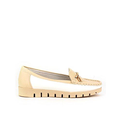 Cendriyon, Mocassins Beige D de DIANA Mode Chaussures Femme Beige