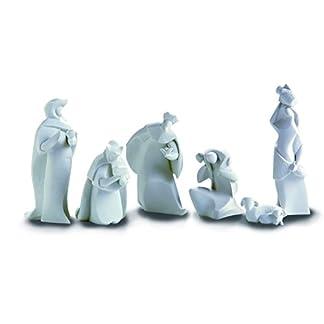 Nadal Figura Decorativa la adoración, Resina, Multicolor, 5.00×3.50×16.50 cm