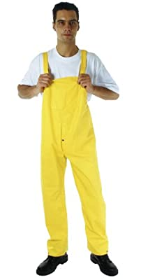 Regenlatzhose u. Arbeitshose Regenhose Überhose in Gelb PVC