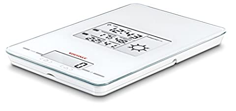Soehnle Meteo Centre 5-in-1 Weather Station/Clock/Timer/Alarm and Kitchen Scale (European Time Only)