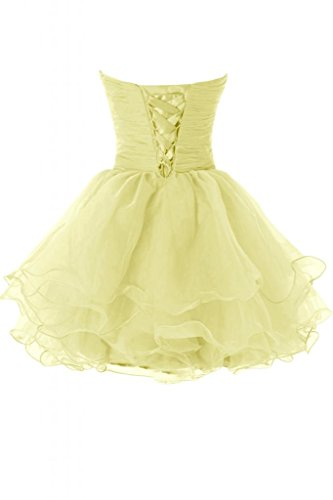 Sunvary Hot Organza corte della linea Sweetheart vestito da Cocktail Party Dress Costume Narciso