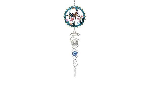 Spin-Art Artiste Queue Cristal en Forme de Papillon