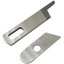 La Canilla ® - Set de 2 Cuchillas (Inferior y Superior) para Overlock Singer