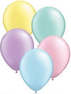 decoart10-luftballon-mix-pastell-metallic-helle-farben-ca-28-cm-und-ein-weies-aufblasventil-sowie-ei