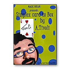 murphys Tivoli Box (Simplex Card to Box) by Arthur Tivoli - Trick -