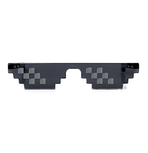 [Garantie à vie] Lunettes Thug Life Pixel idéal soirées et déguisements Original Meme swag deal with it