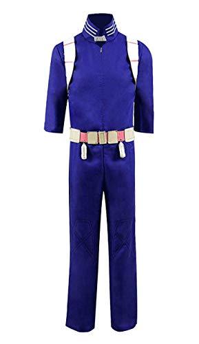 ime Academia Hero Todoroki Overall Herren Halloween Cosplay Kostüm (M, Blau) ()