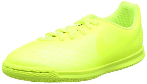 Nike Magistax Ola Ii Ic, Scarpe da Calcio Unisex – Bambini Verde (Volt/volt/barely Volt/electric Green)