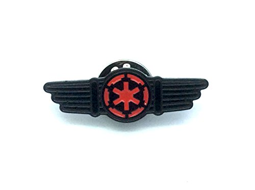 Patch Nation Star Wars Tie Fighter Pilot Flügel Cosplay Metal Pin Badge