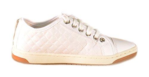 Geox Jr Creamy D, Baskets Basses Fille Blanc