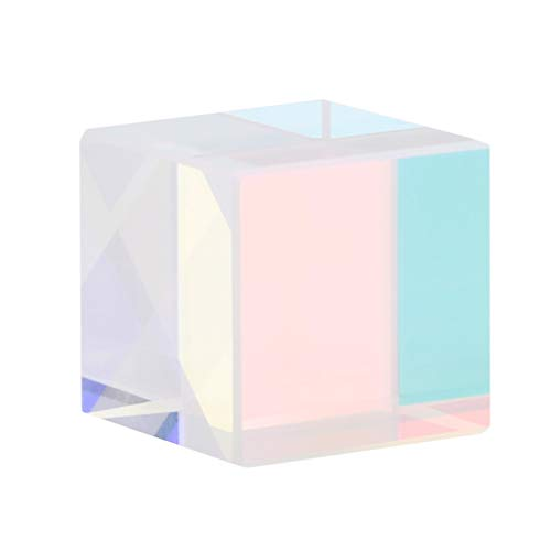 L_shop Schöne Transparente Farbe Prisma Prisma optische Experimentelle Linse Laserdiodenmodul Spielzeug