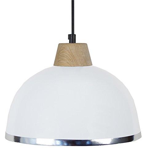 tosel-15564-demi-boule-b-suspension-tole-acier-repousse-peinture-epoxy-pvc-chrome-blanc-245-x-900-mm