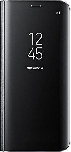 Samsung S8 Clear View Standing Cover – Funda para Samsung Galaxy S8, color negro