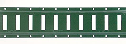 S-Line XH8016-12PB 12-Inch E-Track, Green, 12-Gauge Steel 2,000-Pounds Working Load Limit