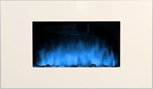 Chemin'Arte 085 - Chimenea eléctrica (90 x 16 x 56 cm), color...