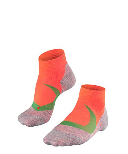 FALKE Herren RU4 Cool Short Runningsocken, neon red, 42-43 (Neon Running Shorts)