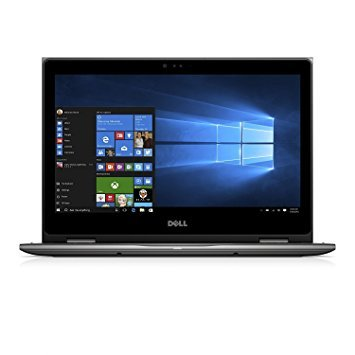 DELL Flagship Inspiron 2-in-1 13.3 Touch-Screen Laptop - Intel Core i7 -7500U - 8GB Memory - 256GB Solid State Drive - Gray