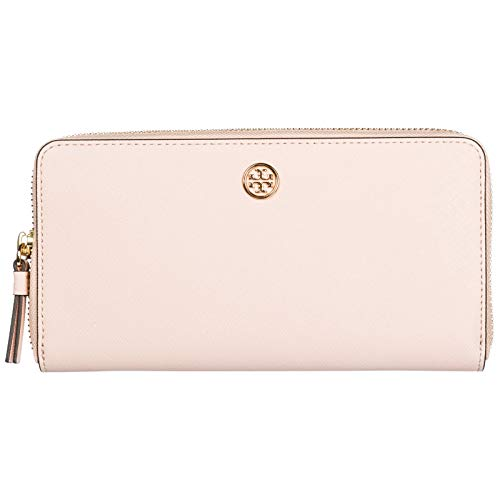 Tory Burch damen Robinson Geldbörse pale apricot/royal navy