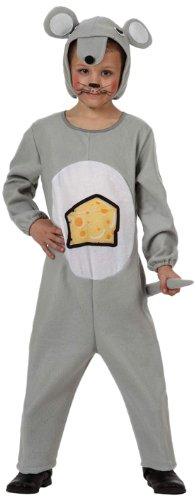 Imagen de atosa  disfraz de ratón infantil, talla 10  12 años 10853