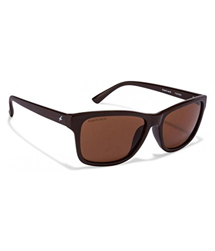 Fastrack-UV-protected-Square-Mens-Sunglasses-P357BR341-millimetersBrown