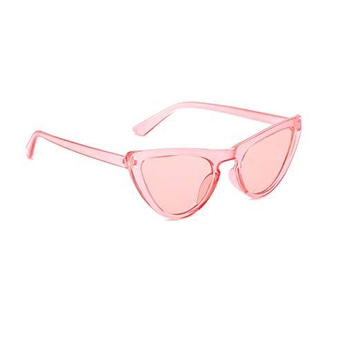 Aienid Sonnenbrille Lustig Resin Cat Eye Sonnenbrillen Rosa Sonnenbrille Für Frauen