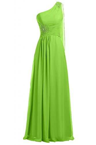 Sunvary-One, in Chiffon tracolla Vestito lungo da sera, Donna Light Green