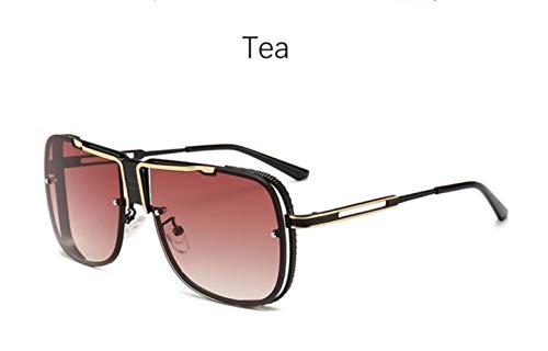 Cranky Orange Big Pilot Sonnenbrille Herren Fahrer Brille Platz photochrome Herren Sonnenbrille Trendprodukte 2019 Schwarze männliche Sonnenbrille, Tee