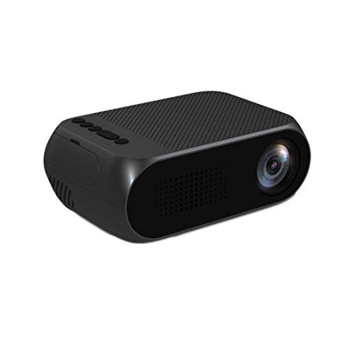 Mini Beamer LCD 1080P Minikino-Projektor Bewegbar Miniprojektor YG320
