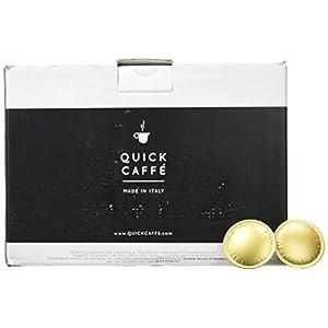 Quick Caffè Gold Lavazza Oro - Pacco da 100 Capsule - 700 g
