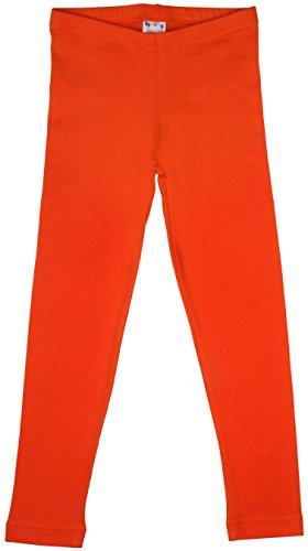Back from Bali - Leggings de algodón hasta el tobillo, para niñas, ajuste perfecto Naranja naranja 3-4 Años