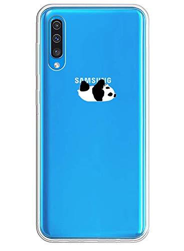 Caler Hülle Kompatibel mit Samsung Galaxy A10/M10 Handyhülle TPU Bumper Silikon Transparent Weiche Schlank Schutzhülle Handytasche Gummi Dünn Flexibel Case Handy Soft Back Cover Handytasche