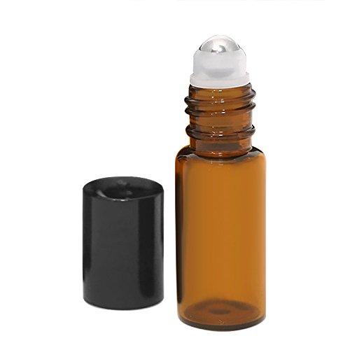 janedream 5 ml Huile essentielle en verre à bouteilles aromathérapie Parfum Vide bouteilles 6/Set