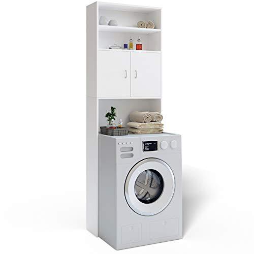 Zoom IMG-3 deuba armadio alto per lavatrice