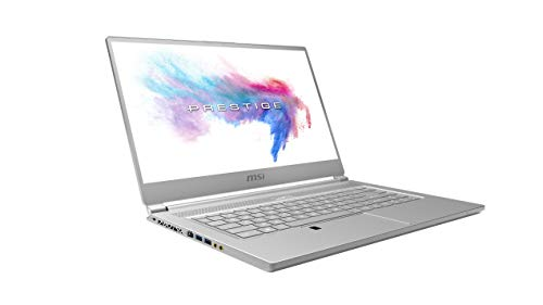 MSI Creator P65 8RE-010DE 39,6 cm (15,6 Zoll IPS-Level) Notebook (Intel Core i7-8750H, 16GB RAM, 512GB PCIe SSD, Nvidia GeForce GTX 1060, Windows 10 Pro) silber