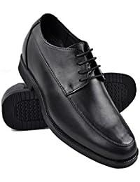 Zerimar Zapatos con Alzas Interiores para Hombres Aumento 7 cm | Zapatos de Hombre con Alzas