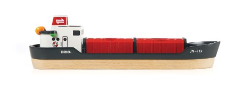 Imagen 14 de Brio - Set circuito de tren, puerto de cargar y descargar (33061)