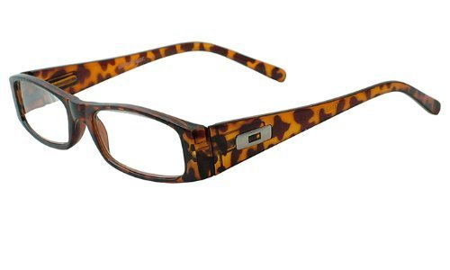 About Eyes G152 Suzanne Strength Plus 1 Brown/ Black Frame Reading Glasses by About Eyes