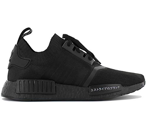 Adidas Herren NMD R1 Primeknit Sneaker, Schwarz (Negbas/Negbas/Negbas), 41 1/3 EU