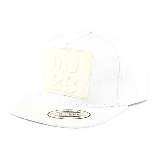 Hip Hop Honour Snapback MJ 23 Blanche - Mixte